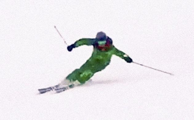 スキー 谷回り ポジション