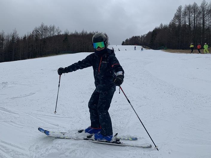 スキー検定 1級 横滑り