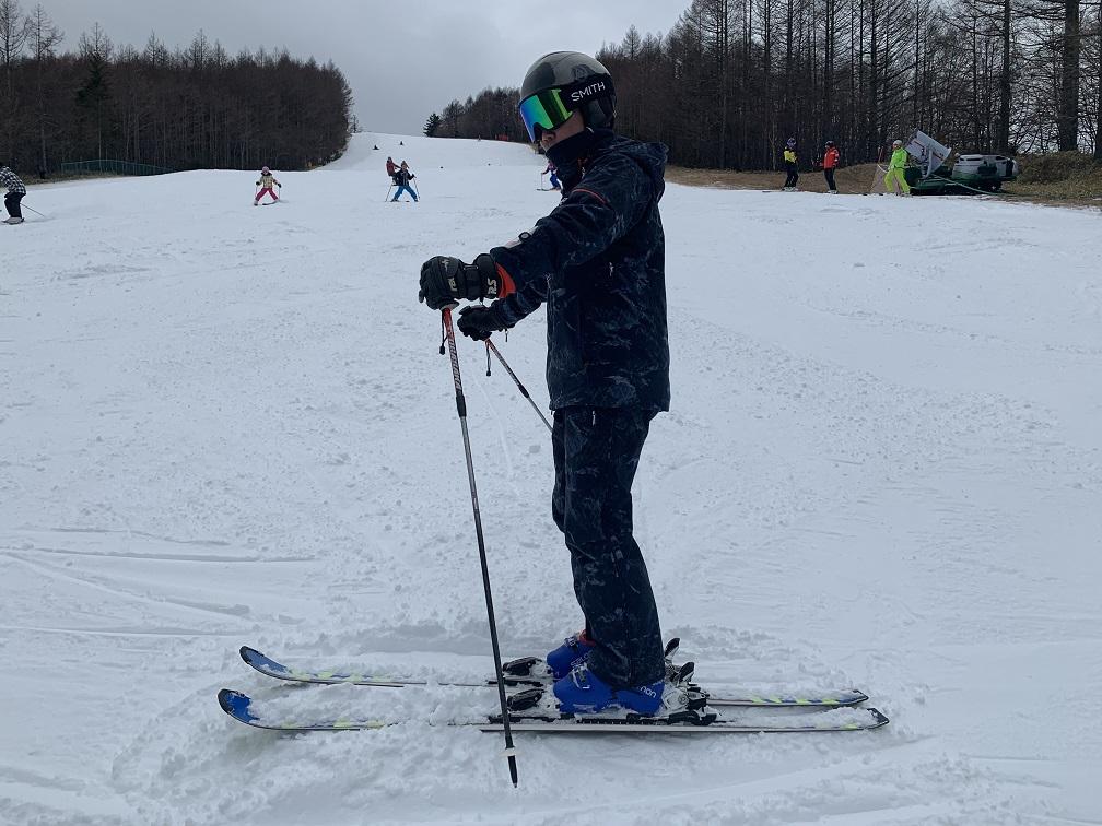 スキー検定 横滑り 必要