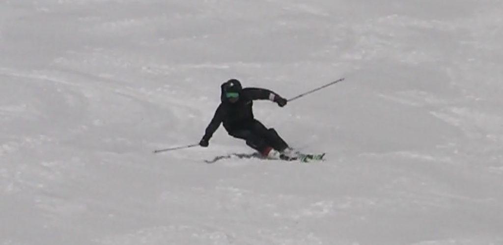 スキー検定 1級 大回り ターン前半