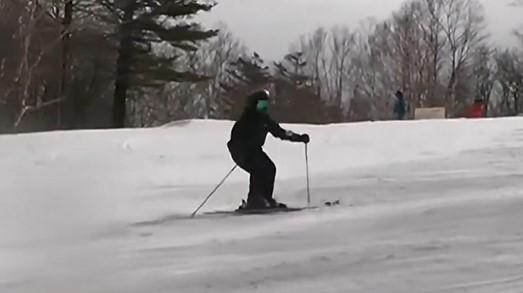 スキー ベンディングターン
