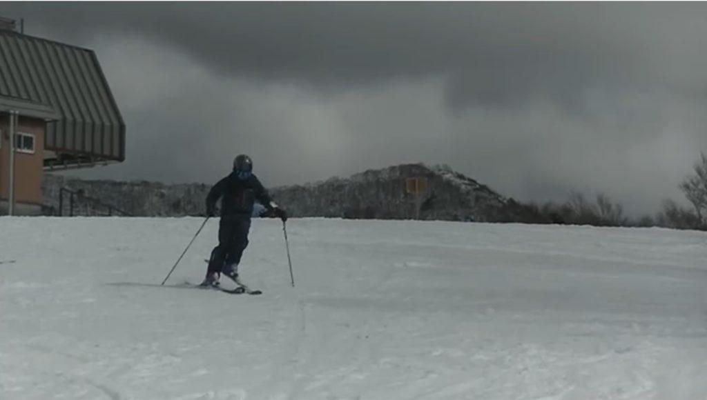 スキー検定 2級 シュテムターン 不合格例