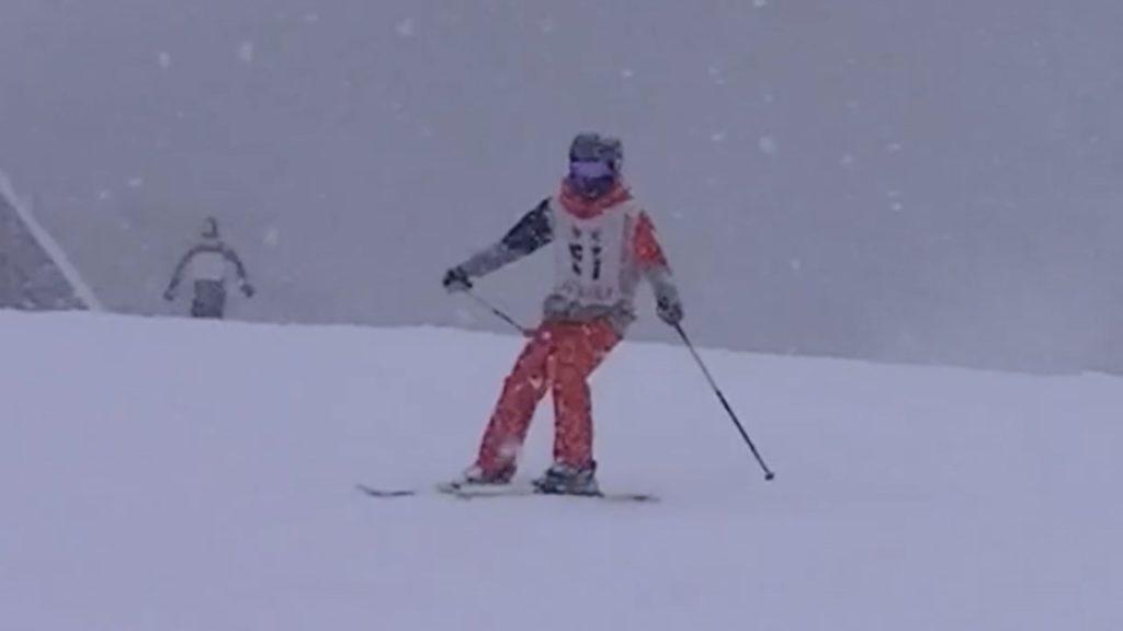 スキー検定 2級 シュテムターン 不合格