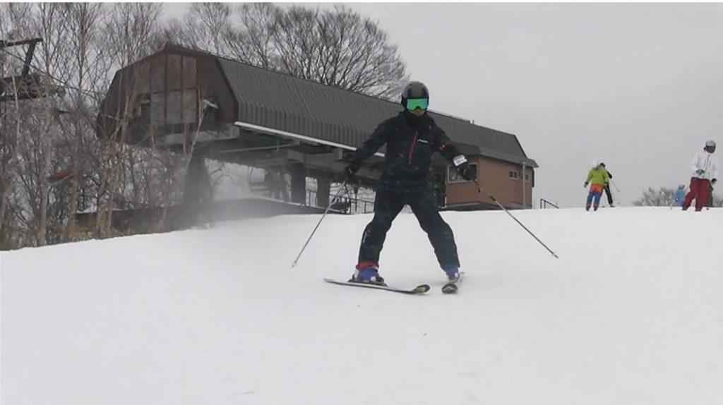スキー検定2級 シュテムターン