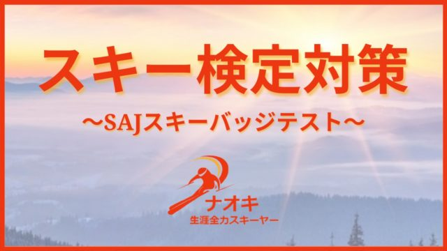 スキー検定バッジテスト対策