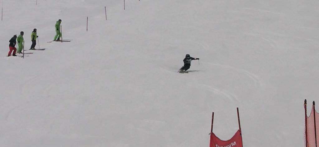 スキー検定 1級 総合滑降