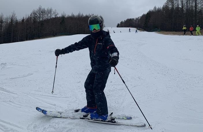 スキー検定1級 コブ 不整地小回り 外向