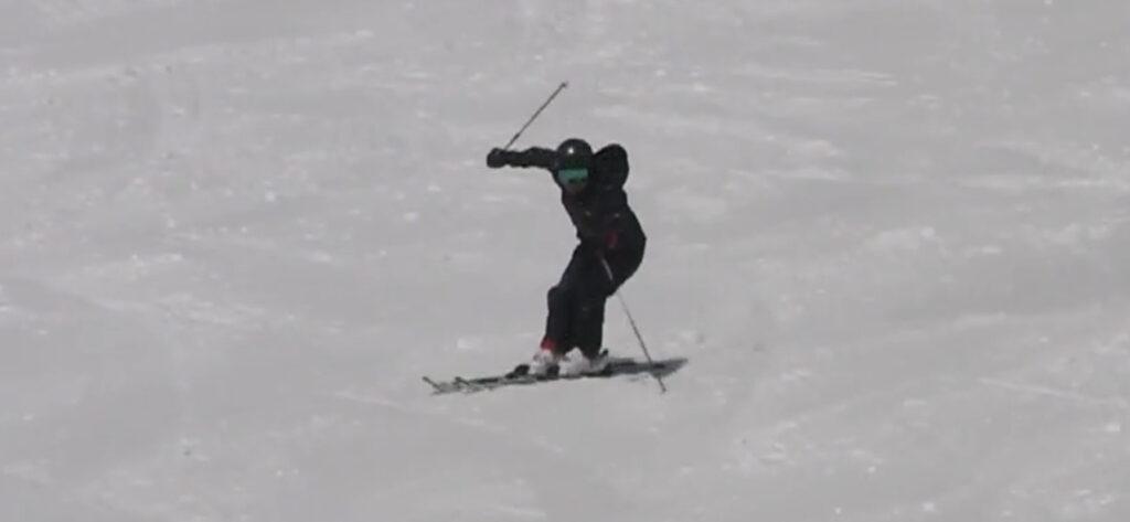 スキー ストックワーク